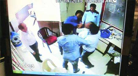 In college set up by Ambedkar, principal 'forced by goons' to suspend himself