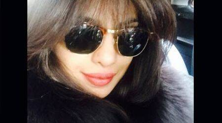 Priyanka Chopra is back in Mumbai with a bang