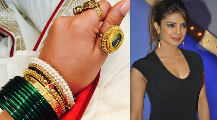 Priyanka Chopra To Wear 85 Nauvaris In Bajirao Mastani Entertainment News The Indian Express