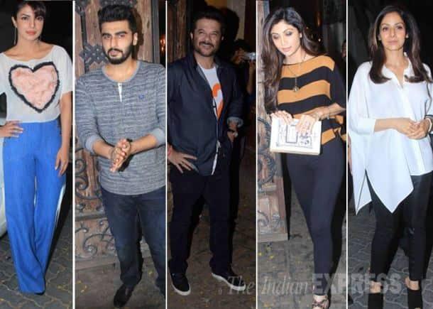 Priyanka Chopra, Arjun Kapoor, Sridevi, Shilpa Shetty, Anil Kapoor, Dil Dhadakne Do
