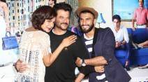 Ranveer singh, Anil Kapoor, Priyanka Chopra