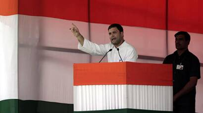 Through Gujarat model, Modi showed he can easily snatch farmers' land: Rahul Gandhi