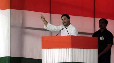 Mahatma Gandhi's killing result of destructive philosophy of RSS backers: Rahul Gandhi