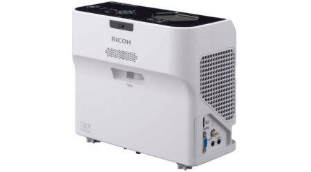 Ricoh PJWX4141Ni Express Review: Who needs a large room for a projector?