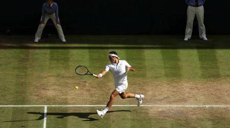The only guy better than Roger Federer on grass is Bob Marley, says Shane Warne
