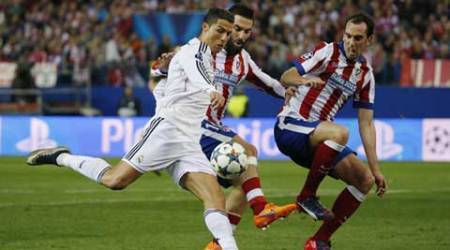 UEFA Champions League quarter-final: Real Madrid held 0-0 by Atletico de Madrid in first leg