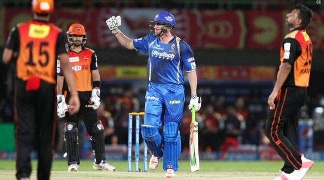 RR beat SRH for fourth straight win