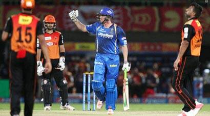 RR beat SRH by 6 wickets for fourth straight win