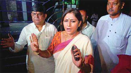 Actor Rupa Ganguly alleges attack by Trinamool Congress workers