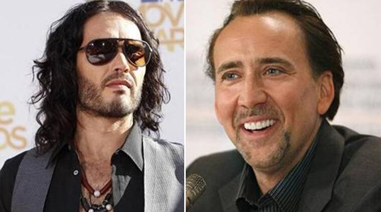 Russell Brand, Nicholas Cage