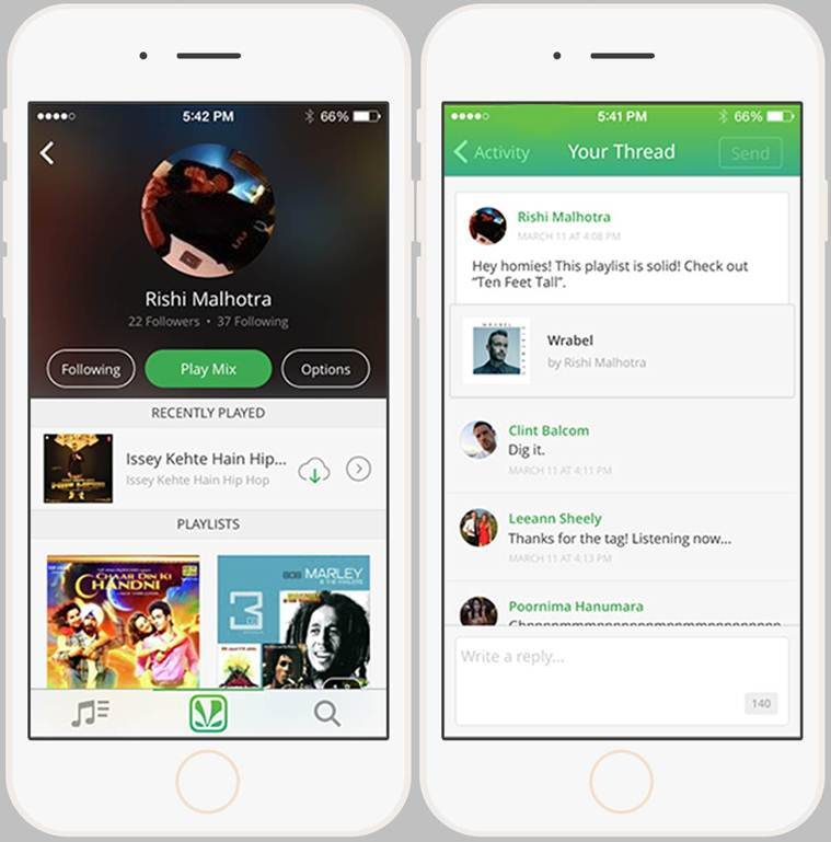 Saavn, Saavn Social, music streaming, twiiter, facebook, whatsapp, music apps, best indian music apps, technology news