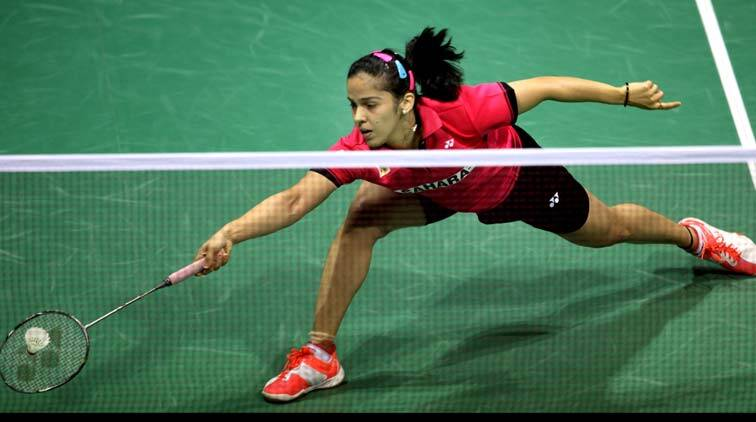 Saina lost the number one position after losing at Malaysian Open......Express Photo by Ravi Kanojia.