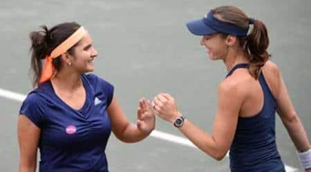 Sania Mirza, World No.1 Sania Mirza, Sania, Martina Hingis, Sania-Hingis, Sania Mirza World No.1, Tennis News, Tennis