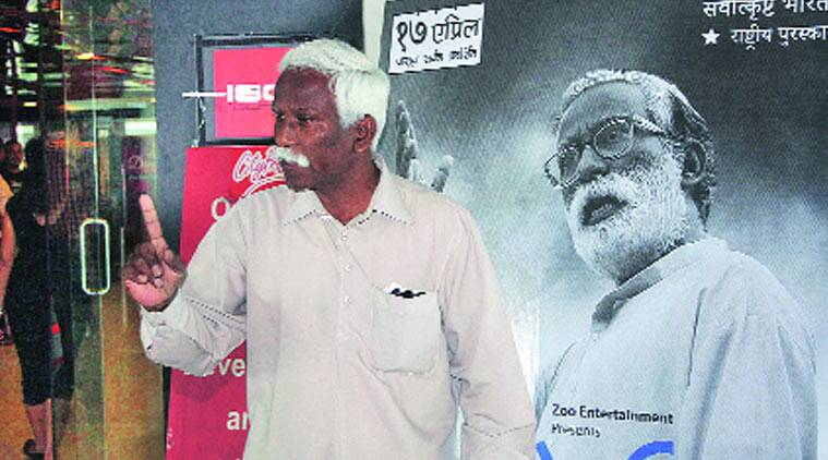 'Left Ambedkarite' Vira Sathidar has been on police radar for long. (Source: Express photo byDeepak awale)