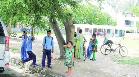 41 years on, no boundary wall for this govt school