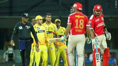 CSK top table after win over KXIP; MI down SRH