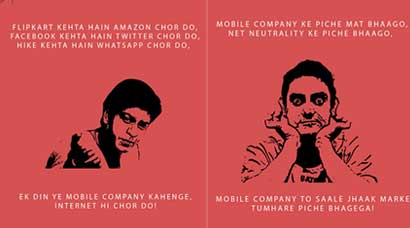 Funny take on Net Neutrality a la Bollywood style