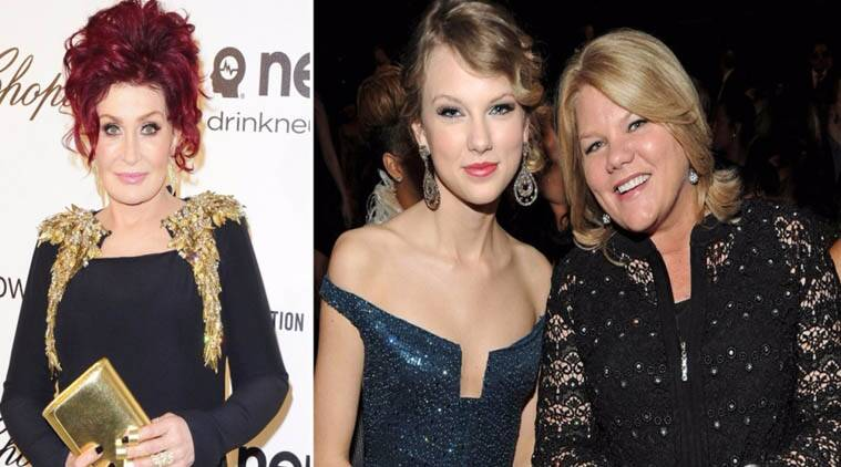 Sharon Osbourne, Taylor Swift, Mother Andrea Finlay