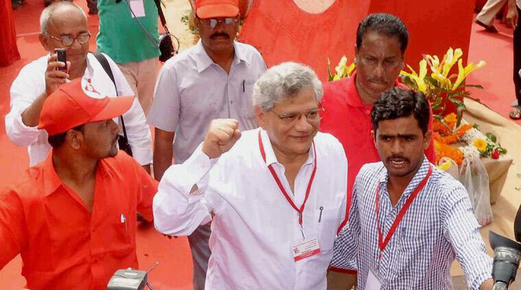Sitaram Yechury, CPI(M) general secretary, Sitaram Yechury CPI(M), Somnath Chatterjee, CPI(M), india plitics, india news, indian express