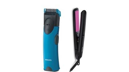 Philips launches skin trimmer for men, hair straightener for women
