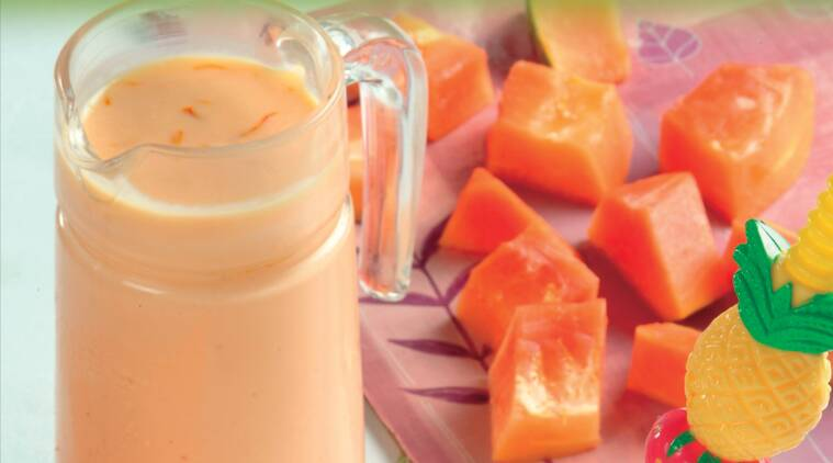 Express Recipes: How to make Papaya Honey Smoothie
