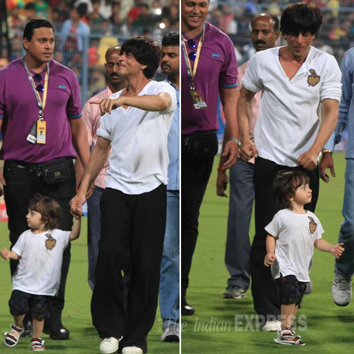 AbRam, SRK, Aryan Khan, Suhsna Khan, SRK Aryan Suhana, AbRam, SRK KKR,