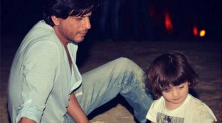 Spending time with kids makes Shah Rukh Khan have positive feelings