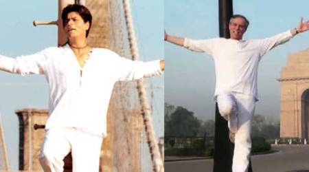 Shah Rukh Khan praises German envoy's Bollywood video debut