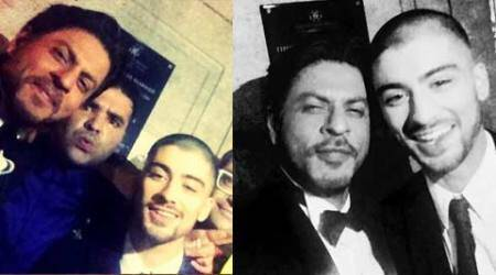 Shah Rukh Khan parties with popstar Zayn Malik, wins award at The Asian Awards in London