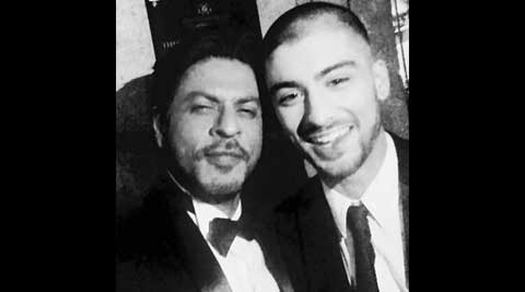 shah rukh khan, shah rukh khan zayn malik, zayn malik, srk, srk zayn malik, srk zayn pictures, srk twitter, srk asian awards, shah rukh khan asian awards, zayn malik asian awards