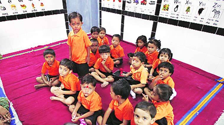 National Commission for Minorities, AMC, school management committees, school uniform, color for religion, saffron for hindu, green for muslim, ahmedabad news, city news, local news, Gujarat news, indian express