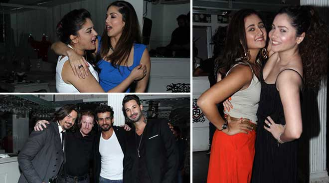 Sunny Leone, Ankita Lokhande at birthday bash of Jay Bhanushali's wife Mahi Vij