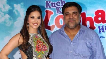sunny leone, ram kapoor, kuch kuch locha hai, Evelyn Sharma, ram kapoor leone family drama, leone ram kuch kuch locha, actor ram kapoor, actress sunny leone, kuch kuch locha not adult, kuch kuch locha family drama, ram kapoor movies, sunny leone movies, ram kapoor with parents inlaws, ram kuch locha family film, bollywood news, entertainment news