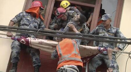 Nepal Earthquake: For hours he heard mother, wife, daughter cry — until theystopped