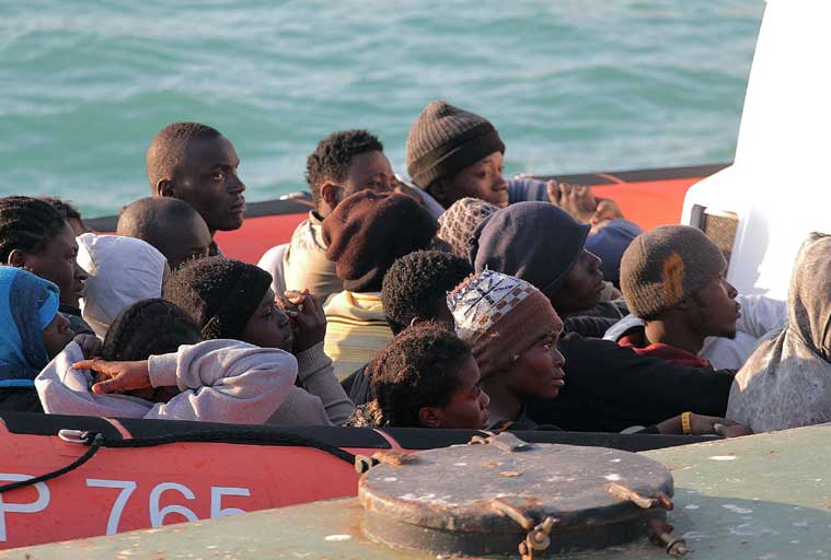 Around 400 feared dead as Italian migrant boat capsizes off