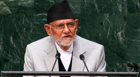 Nepal PM Koirala requests citizens to donate blood
