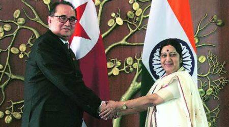 India will positively consider N Korea's request for humanitarian aid:Sushma