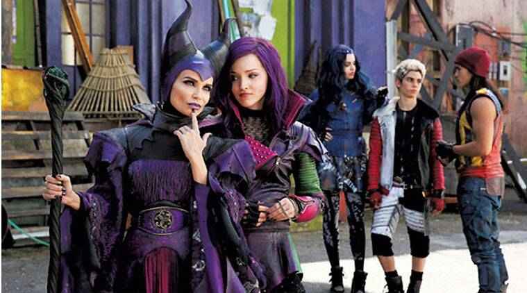 Delightful Disney, The Descendants, Disney Four Villians The Descendants, Disney  Channel The Descendants,