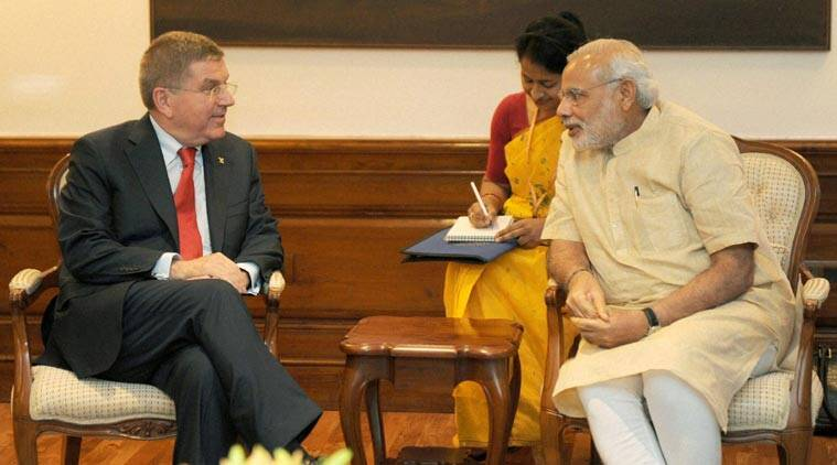 India olympics, India 2024 olympics, Thomas Bach, Thomas Bach IOC, IOC chief Thomas Bach, India Olympics host, India Olympics Bid, Sports News, Sports