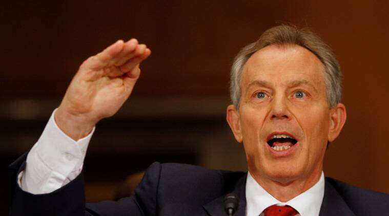 Former British Prime Minister Tony Blair. (File Photo)