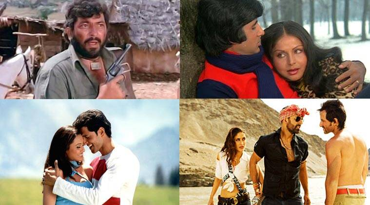 bollywood movies, top bollywood movies, top bollywood films, top 100 bollywood movies, timeout london list, sholay, ddlj, amitabh bachchan, shah rukh khan, salman khan, aamir khan, lagaan, pyaasa, guide, dev anand, best bollywood movies, best hindi movies, best hindi films, top hindi films