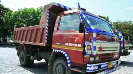 Two drivers booked for 'illegal' sandmining