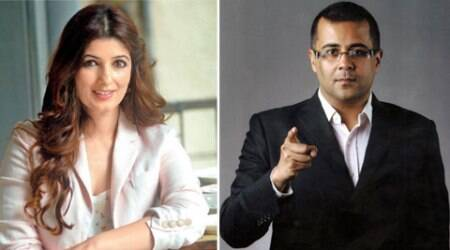 Twinkle Khanna, Chetan Bhagat involved in Twitter debate