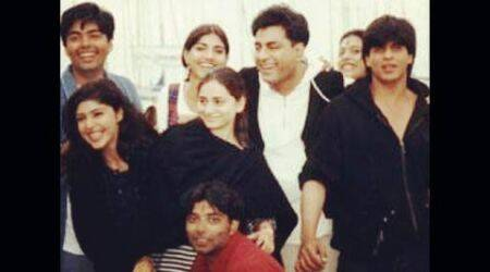 Uday Chopra shares 'DDLJ's old picture with young Shah Rukh Khan, Karan Johar and Kajol