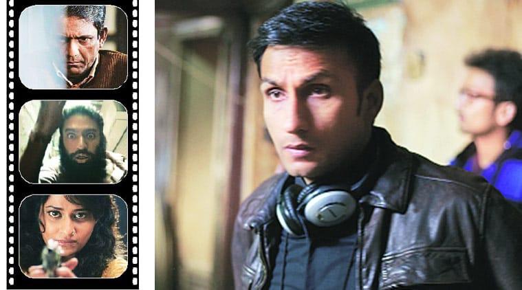 Director Raj Amit Kumar; stills from the film.