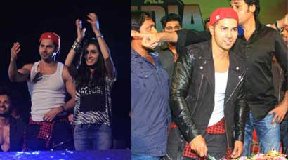 Varun Dhawan celebrates 28th birthday with Shraddha Kapoor and 'ABCD 2′ team