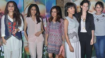 Ladies Night: Vidya Balan, Sridevi, Kalki Koechlin watch 'Margarita With a Straw'