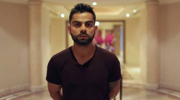 Virat Kohli features in a video supporting  women rights.