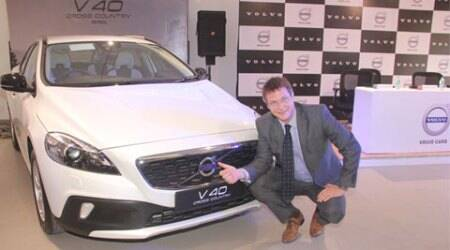 Volvo V40 Cross Country T4 launched at Rs. 27 lakh in India
