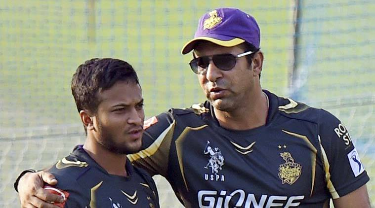 Wasim Akram is the bowling consultant With Kolkata Knight Riders (Source :PTI)